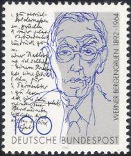 Germany 1992 W Bergengruen/Writers/Authors/Books/Writing/Literature 1v (n45423)