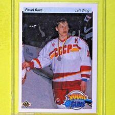 """PAVEL BURE 1990-91  """" YOUNG GUNS """"  #526   Vancouver Canucks"""