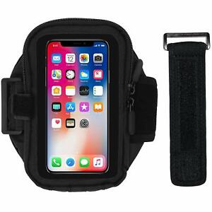 Mobile Phone Running Armband, Workout Holder Adjustable Strap & Pouch 20 in BNIP