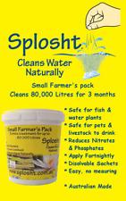 SPLOSHT Small Farmer's Pack - Natural Water Cleaner & Algae Killer Up To 80,000L