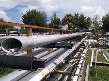 "50 feet 9 inch Aluminum Sailboat Mast Extrusion (9.0"" x 5.5"")"
