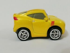 Disney Pixar Cars Mini Racers Yellow Cruz Ramirez In Real Riders Customs
