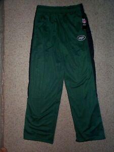 ($35) New York NY Jets nfl Jersey Warmup Pants YOUTH KIDS BOYS (xl)