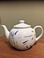 Lakeland Teapot Lavender & Leaves Quality Design Never Used £14.99 Free P&P