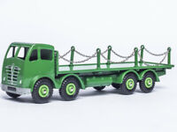 Atlas inky 1/43 Supertoys 905 FODEN FLAT TRUCK WITH CHAINS CAB GREEN Car Model