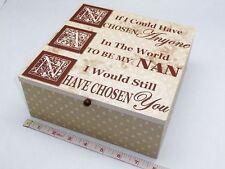 Vintage/Retro Square Decorative Boxes, Jars & Tins