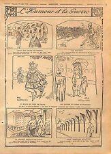 Humour Impôt Porte Fenêtre Munitions Poilus Mitrailleuse Feldgrauen  WWI 1916