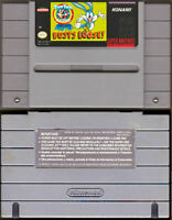 Buster Busts Loose - Tiny Toon Adventures - SNES Super Nintendo - Cart Only