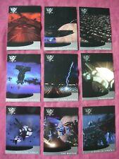 Babylon 5 Season 5 X9 Thirdspace chase cards Fleer/SkyBox 1998 VFN