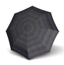 Knirps Smart&casual Line Minimatic Light Regenschirm Taschenschirm Schirm Black