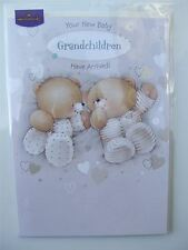 Forever Friends BABY GRANDCHILDREN have arrived card by Hallmark - 11086997