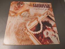 "1985  Madonna – Material Girl 12"" Maxi-Single Sire – 0-20304 EX/VG+ PROMO"