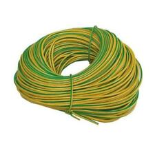 EARTH SLEEVING 2mm PVC GREEN/YELLOW ROLL OF 100M