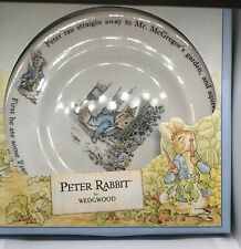 """Peter Rabbit By Wedgwood Plate """"Under The Gate� Made In The Uk"""