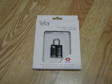 ETA TRAVEL SENTRY APPROVED COMBINATION LOCK (FREE SHIPPING)