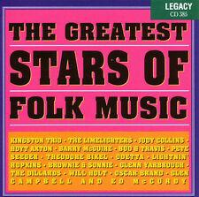 Various Artists : The Greatest Stars Of Folk Music CD