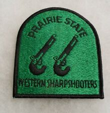 """ILL NG 66TH VOLS RGT GOES BACK CIVIL WAR """"PRAIRIE STATE WESTERN SHARPSHOOTERS"""""""