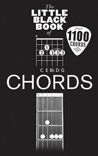 The Little Black Book Of Chords Learn to Play Power Rock EASY GUITAR Music Book