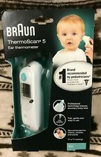 Braun ThermoScan 5 Digital Ear Thermometer - (IRT6020) NEW SEALED FREE SHIPPING