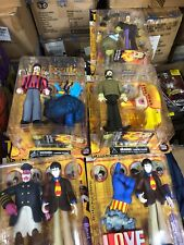 1999 MCFARLANE COMPLETE S/4 THE BEATLES YELLOW SUBMARINE ACTION FIGURES Rare Set