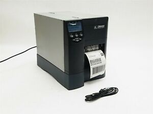 Zebra ZM400 USB Parallel Network Thermal Barcode Label Printer ZM400-2001-0100T