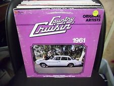 COUNTRY CRUISIN 1961 LP EX 1982 Ruby Records Wanda Jackson Tex Ritter Skeeter