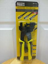 Klein Tools Vdv211 007 Vertical Multi Connector Compression Crimper