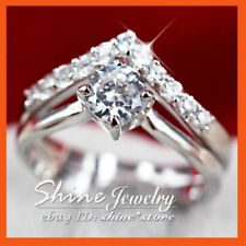 Infinity White Gold Filled Fashion Rings