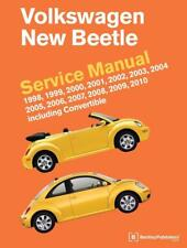 VW VOLKSWAGEN NEW BEETLE CONVERTIBLE Owners Service Repair Manual Handbook Book