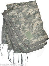 US Military Wet Weather Poncho Liner Woobie Blanket ACU Army DIGITAL CAMO GRADE3
