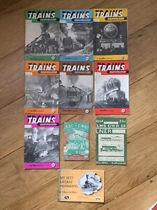 10 Various Railway Booklets 40s/50s