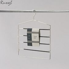 H & L Russel Trouser Hanger with 4 Non-Slip Easy Access Swing Bars Home New