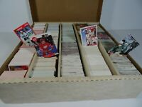Large Collection of MLB NHL & NFL USA Trading Cards Score Pro Set OPC Fleer 1991