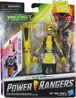 "Power Rangers Beast Morphers ~ 6"" YELLOW RANGER ACTION FIGURE ~ Hasbro"