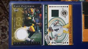 2x Jersey Cards Brett Favre Green Bay Packers
