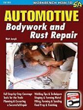 SA166 Automotive Bodywork Rust Repair Sheet Metal Book Muscle Car Dent & Dings