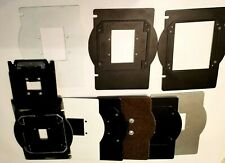 Darkroom Negative Carriers and lenses holders