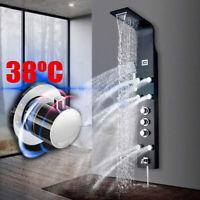 38ºC Thermostatique Panneau de Colonne de Douche Jets de massage Salle de bains