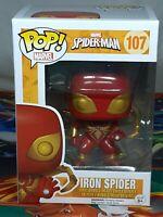 Marvel Spider-Man Pop #107 Vinyl Bobble-Head Figure Funko Aus Seller