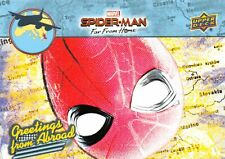 Spider-Man Far From Home Movie GREETINGS FROM ABROAD Trading Card Insert GFA-12