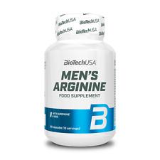 BioTech USA MEN'S ARGININE L-Arginine AAKG 90 caps Support Sexual Health Libido