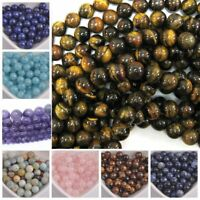 4MM 6MM 8MM 10MM Wholesale Natural Gemstone Round Spacer Loose Beads