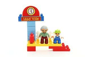 Lego Duplo Train Set Railway Station /part of 5608-1/ 100% complete 2008