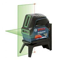 BOSCH 15m GCL-2-15G Self Levelling GREEN Cross Line Laser & Plumb Level + Case