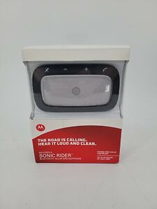 NEW Motorola Sonic Rider Bluetooth In-Car Speakerphone Hands Free EB-6073