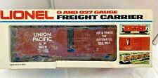 LIONEL 6-9419 UNION PACIFIC BOXCAR WITH ORIGINAL BOX GOOD CONDITION