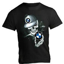 T-Shirt BMW motorrad Skull engine r1200gs r1250gs s1000rr f850 racing man woman