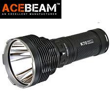ACEBeam K70 Throw 1300M 2600lm CREE XHP35 HI LED Magnetic Ring 18650 Flashlight