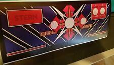 Berzerk arcade control panel overlay stern