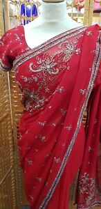 Indian Saree Bollywood wear Traditional Style Designer Fancy Wedding sari